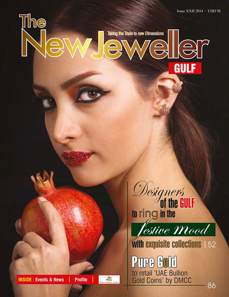 The New Jeweller Magazine , July 2014 , UAE