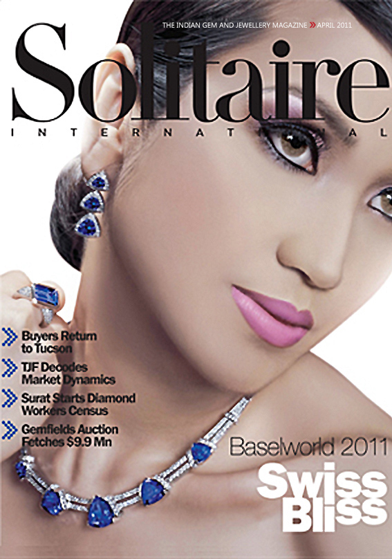 Solitaire International Magazine ,April 2011 , INDIA