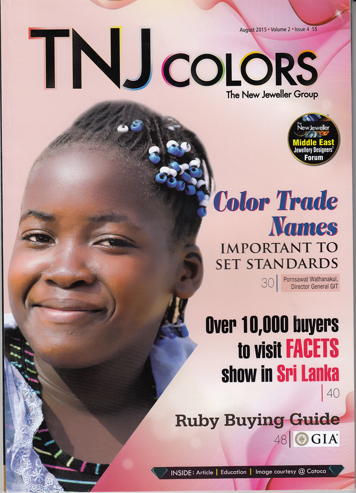 TNJ COLORS,AUGUST 2015,VOLUME 2,ISSUE 4